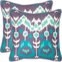 Safavieh Two-Piece Manhattan Pillow - Aqua found on Bargain Bro from Saks Fifth Avenue OFF 5TH for USD $64.59