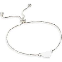 Sterling Silver Adjustable Slider Bracelet