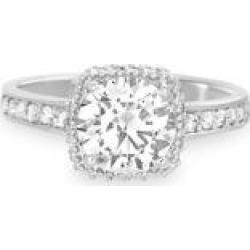 925 Sterling Silver & Swarovski Crystal Engagement Ring