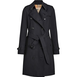 Burberry Women's Kensington Cotton Trench - Midnight - Size 4 found on Bargain Bro India from Saks Fifth Avenue for $1990.00