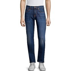 7 For All Mankind Men's The Straight Faded Jeans - Oracle - Size 36 found on MODAPINS from LinkShare USA for USD $199.00