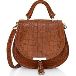 Mini Venice Croc-Embossed Leather Saddle Bag found on Bargain Bro India from Saks Fifth Avenue AU for $312.45