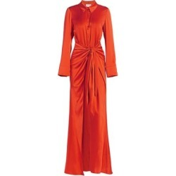 Maddy Tie-Waist Silk Shirt Gown found on Bargain Bro UK from Saks Fifth Avenue UK