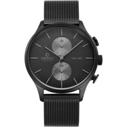 Gran Chronograph Stainless Steel Bracelet Watch