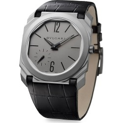 BVLGARI Octo Finissimo Titanium Alligator Leather Strap Watch found on Bargain Bro Philippines from Saks Fifth Avenue for $13400.00