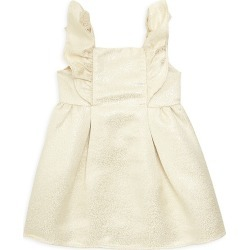 Janie and Jack Little Girl's & Girl's Jacquard Ruffle Dress - Gold - Size 3 found on Bargain Bro India from Saks Fifth Avenue for $39.50