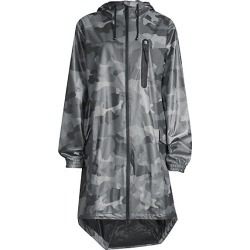 Camo-Print Raincoat found on MODAPINS from Saks Fifth Avenue for USD $135.00