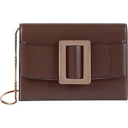 Boyy Women's Buckle Leather Chain Shoulder Bag - Oxblood found on MODAPINS from Saks Fifth Avenue for USD $475.00