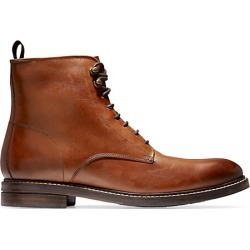 Cole Haan Men's Wagner Waterproof Leather Boots - British Tan - Size 7.5 M