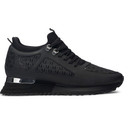 Mallet Men's Men's Diver 2.0 Midnight Monogram Sneakers - Black - Size 11 found on MODAPINS from Saks Fifth Avenue for USD $250.00