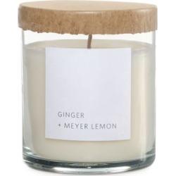 Ginger and Meyer Lemon Scented Jar Candle - 8 oz.