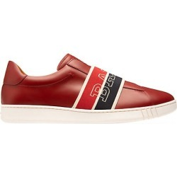 Bally Men's Wilson Wicker Logo Band Slip-On Sneakers - Red - Size 8 found on MODAPINS from Saks Fifth Avenue for USD $297.50