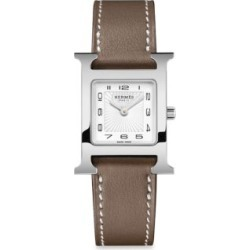 Heure H Leather Strap Watch found on Bargain Bro India from Saks Fifth Avenue AU for $2913.30