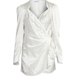 Attico Women's Stars Jacquard Wrap Dress - Latte - Size 44 (10) found on MODAPINS from Saks Fifth Avenue for USD $1074.00