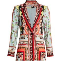 Nate Floral & Paisley Linen-Blend Blazer found on Bargain Bro India from Saks Fifth Avenue AU for $207.44