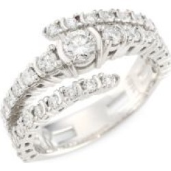 18K White Gold Diamond Shank Bypass Wrap Ring found on Bargain Bro India from Saks Fifth Avenue AU for $4967.53