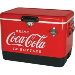 Coca-Cola 85 Can Stainless Steel Ice Chest with Bottle Opener found on Bargain Bro from The Bay for USD $180.87