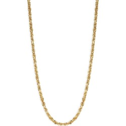 Saks Fifth Avenue Women's 14K Yellow Gold Rope Chain Necklace found on Bargain Bro from Saks Fifth Avenue OFF 5TH for USD $1,351.28