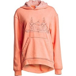 Alchemist Women's Casbah Cotton Hoodie - Blooming Dahlia - Size XS found on MODAPINS from Saks Fifth Avenue for USD $575.00