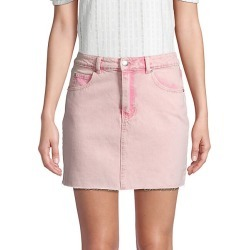 Faded Denim Skirt found on Bargain Bro India from Saks Fifth Avenue OFF 5TH for $29.99