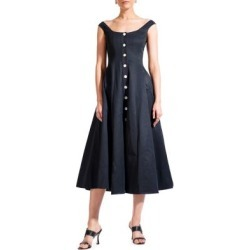 Loretta Off-Shoulder Buttoned Fit-&-Flare Dress found on Bargain Bro Philippines from The Bay for $274.99