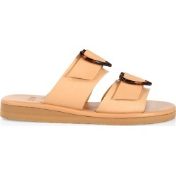 Ancient Greek Sandals Women's Iaso Hearts Leather Wedge Sandals - Natural - Size 5 found on MODAPINS from Saks Fifth Avenue for USD $310.00
