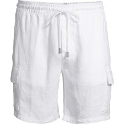Linen Cargo Shorts found on MODAPINS from Saks Fifth Avenue UK for USD $264.78