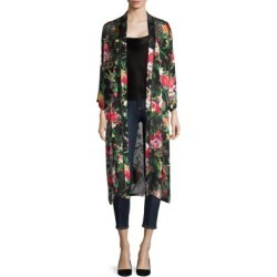 Maylin Floral-Print Tie-Waist Robe found on MODAPINS from Saks Fifth Avenue for USD $264.00