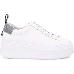 Ash Women's Moon Platform Sneakers - White Silver - Size 40 (10) found on MODAPINS from Saks Fifth Avenue for USD $138.60