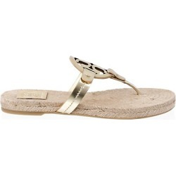 Miller Leather Espadrille Sandals