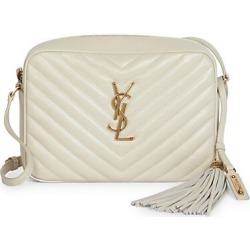 Saint Laurent Women's Lou Matelassé Leather Camera Bag - Cream found on Bargain Bro India from Saks Fifth Avenue for $1150.00