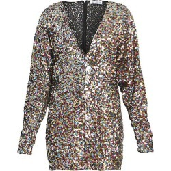 Attico Women's Paillettes Mini Dress - Size 38 (4) found on MODAPINS from Saks Fifth Avenue for USD $440.40