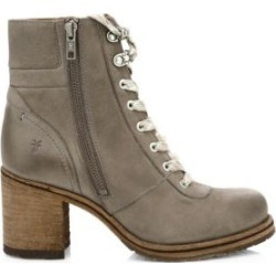 Karen Shearling & Leather Hiking Boots found on Bargain Bro UK from Saks Fifth Avenue UK