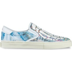 Amiri Men's Tie Dye Skeleton Canvas Leather Sneakers - Purple Tie Dye - Size 42 (9) found on MODAPINS from Saks Fifth Avenue for USD $297.50