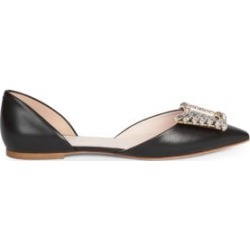 Wings Embellished Leather d'Orsay Flats found on Bargain Bro India from Saks Fifth Avenue Canada for $727.25