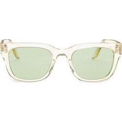 Barton Perreira Men's Stax 50MM Square Sunglasses - Champagne Emerald found on MODAPINS from Saks Fifth Avenue for USD $395.00