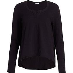 Wilt Women's Hi-Lo Long-Sleeve Tee - Black - Size XS