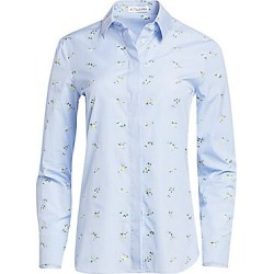 Altuzarra Women's Chica Cotton Drawstring Blouse - Hyacinth - Size 40 (8) found on MODAPINS from Saks Fifth Avenue for USD $417.00