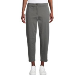 Petite Slouchy Cotton-Blend Ankle Pants found on GamingScroll.com from The Bay for $228.00