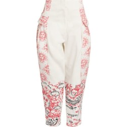 We Are The Weather Tapered Cotton Trousers found on Bargain Bro India from Saks Fifth Avenue AU for $305.92