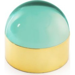 Globo Polished Brass Box
