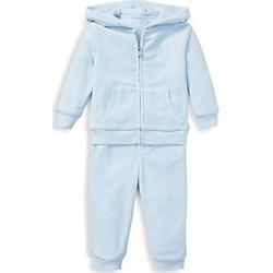 Ralph Lauren Baby Boy's Hoodie & Trackpants 2-Piece Set - Blue - Size 18 Months