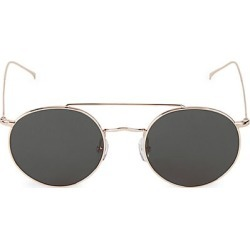Illesteva Women's Allen M 51MM Round Sunglasses - Rose Gold found on MODAPINS from Saks Fifth Avenue for USD $195.00