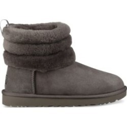 Fluff Mini Quilted Suede and Shearling Boots found on Bargain Bro India from Saks Fifth Avenue Canada for $176.13