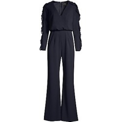 Aidan Mattox Women's Ruffle-Sleeve Jumpsuit - Twilight - Size 8 found on MODAPINS from Saks Fifth Avenue for USD $295.00