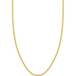 14K Yellow Gold Box Chain Necklace found on Bargain Bro India from Saks Fifth Avenue OFF 5TH for $3650.00