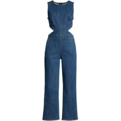 Crossbody Denim Jumpsuit found on Bargain Bro Philippines from Saks Fifth Avenue AU for $193.47
