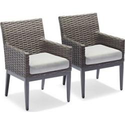Sedona Patio Dining Chair Set of 2