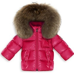 Baby Girl's K2 Fox Fur & Nylon Jacket found on Bargain Bro India from Saks Fifth Avenue for $495.00