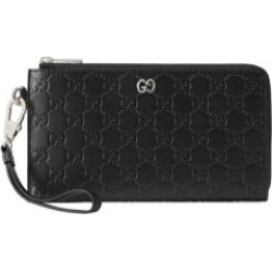 Signature Leather Wrist Wallet found on Bargain Bro Philippines from Saks Fifth Avenue AU for $1030.42